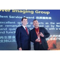 Clover Imaging Group получает награду Excellent Service Award за 2017 год