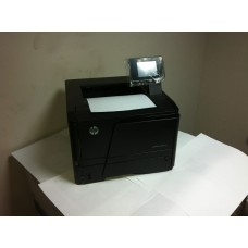 Принтер Б/У HP LaserJet Pro 400 M401dn ч/б A4 33ppm Duplex USB Ethernet (2012 год , 7371 отп.)
