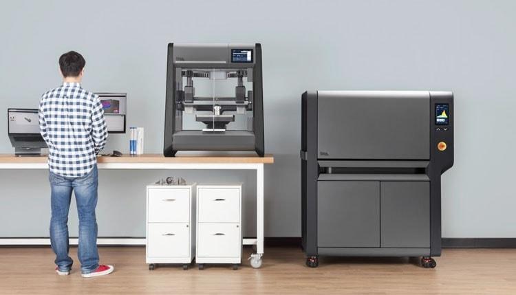 «Офисный» 3D-принетр Desktop Metal для печати металлических моделей (Desktop Metal)